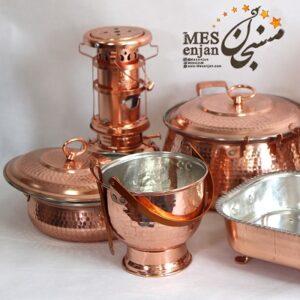 طلای سرخ زنجان (ظروف مسی)
