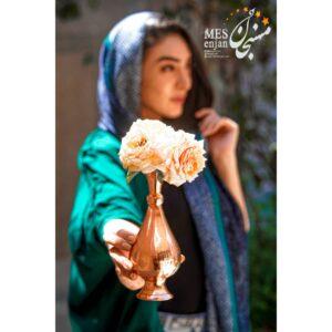 گلدان ساده مسی
