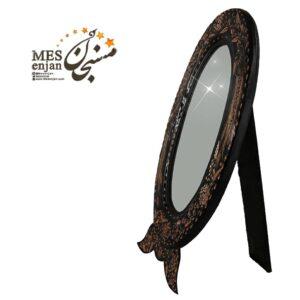 آینه بیضی الماس تراش